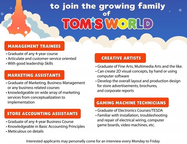 Start your Career!